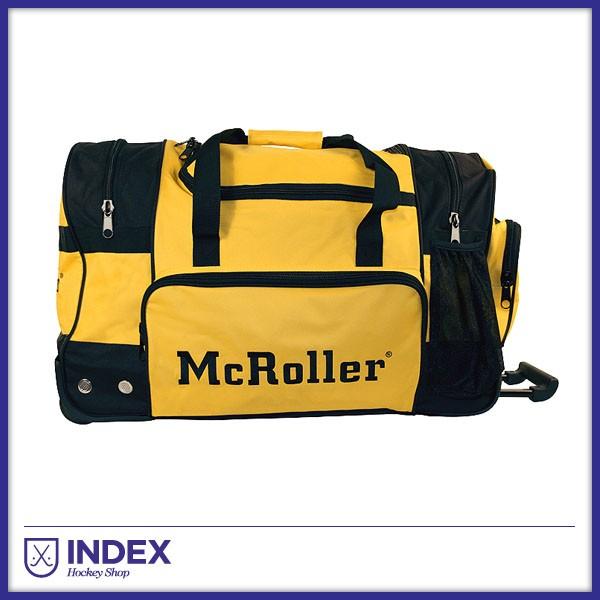 McRoller Bolsa Jugador Negra Amarilla