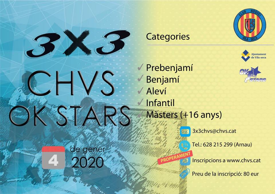 3X3 CHVS OK STARS